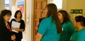 Wild Friends students with Senator Nancy Rodriguez