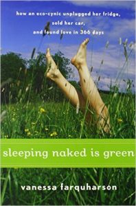 sleeping naked is green bookcover